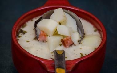 Podhalańska zupa bryndzowa.