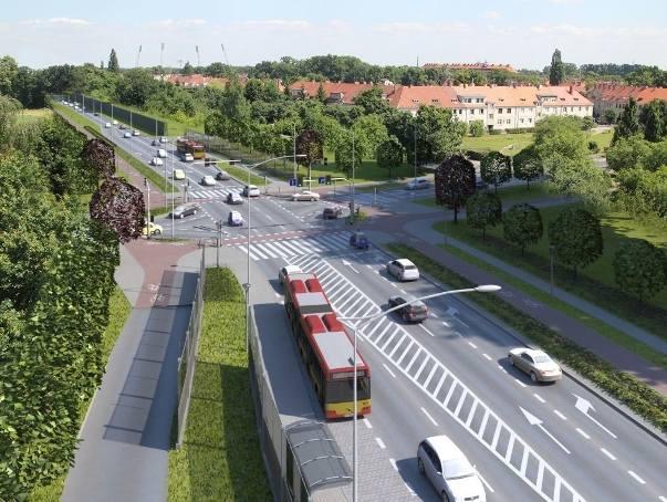 Aleja Wielkiej Wyspy ma połączyć aleję Armii Krajowej i ulicę Krakowską z ulicą Olszewskiego na Biskupinie, a dalej z okolicami Stadionu Olimpijskie