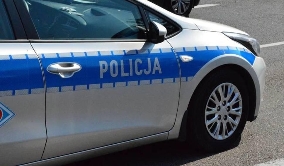 Film do artykułu: Wypadek koło Malechowa. Skuter zderzył się z samochodem