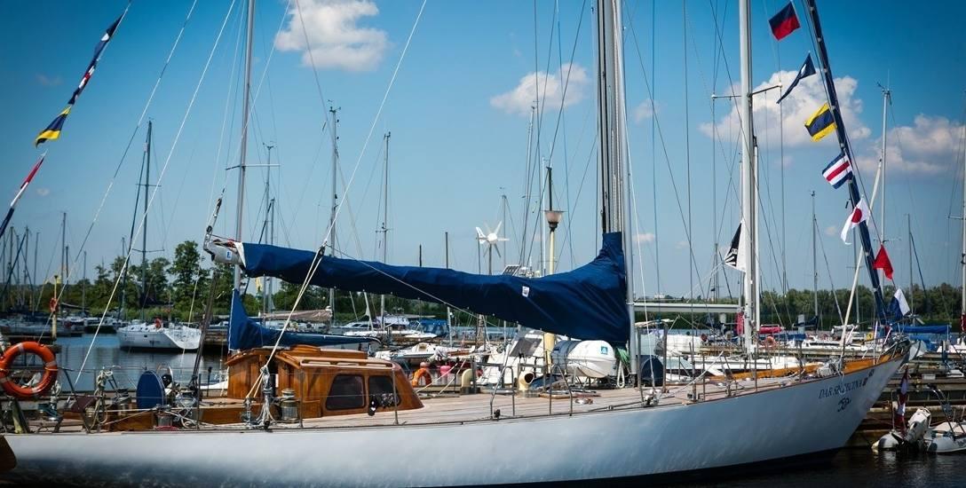 W czasie Dni Morza_Sail Szczecin jubilata można podziwiać na Nabrzeżu Starówka. To wizytówka Szczecina na całym świecie