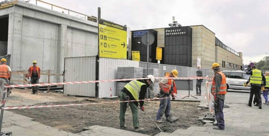 Wykonano główne prace związane z rozbudową dworca autobusowego. Inwestycja zostanie dokończona po ŚDM