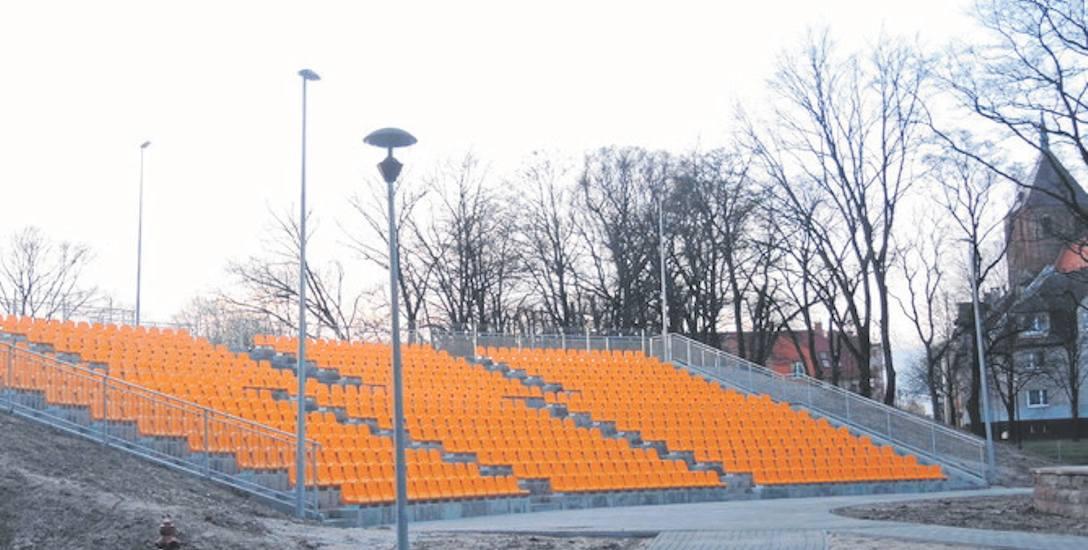 Amfiteatr w Sławnie gotowy. Kiedy otworzą kino?