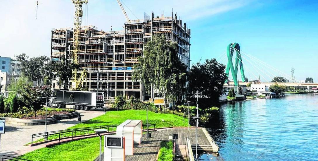 Budynek realizowany przez KWK Construction w Bydgoszczy - river tower budzi wiele emocji. W czasie Dni Otwartych Deweloperów będzie można przyjrzeć mu
