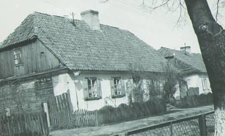 Dom babci Marii Maliszewskiej, 1970 r. Tak samo wyglądał w czasie wojny.