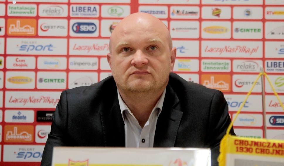 Film do artykułu: Maciej Bartoszek, trener Chojniczanki: Sami sobie strzeliliśmy bramki