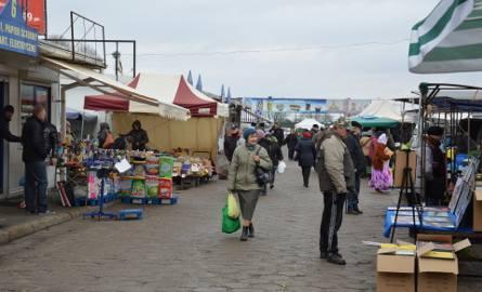 Targowisko miejskie w Łowiczu