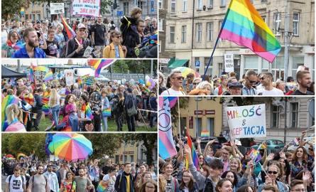 """Marsz Równości w Szczecinie. Przez ulice Szczecina przeszło kilka tysięcy osób. """"Każdy inny, wszyscy równi"""" [ZDJĘCIA, WIDEO]"""