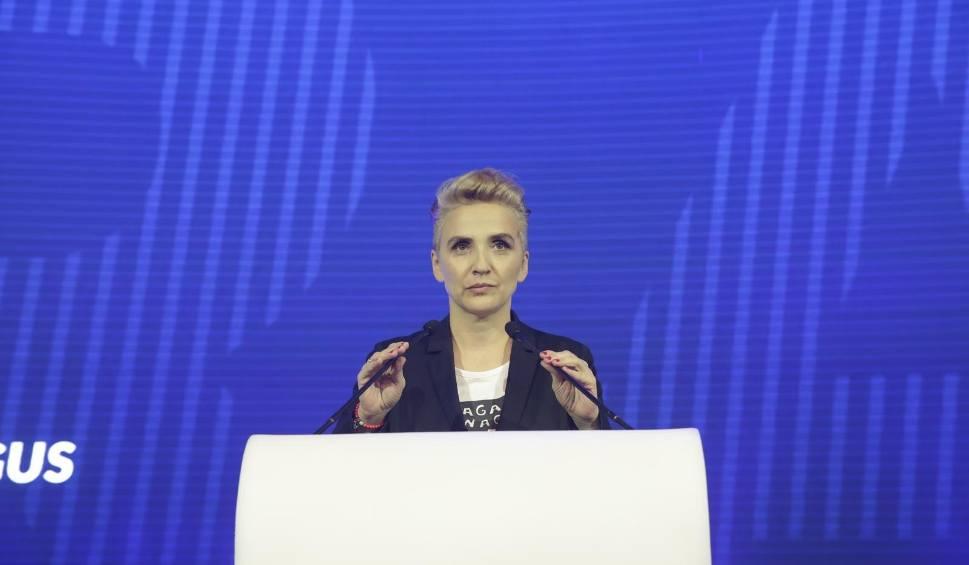 Film do artykułu: Czy Joanna Scheuring-Wielgus wystartuje do europarlamentu z Wiosny?