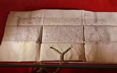 Dokument króla Jagiełły z 1433 roku  można zobaczyć w Muzeum Miasta Łodzi - Pałacu Poznańskiego. Będzie wystawiony do 8 sierpnia.