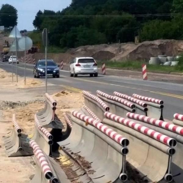 Od soboty (17 listopada) kierowcy będą korzystać z nowej, południowej jezdni ul. Grunwaldzkiej wybudowanej na odcinku leśnym. Rozpocznie się teraz budowa