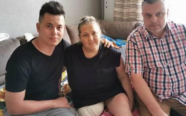 W pomoc dla pani Anety zaangażowali się Michał Makowski i Adrian Dang Xuan z  Rady Dzielnicy Stare Miasto