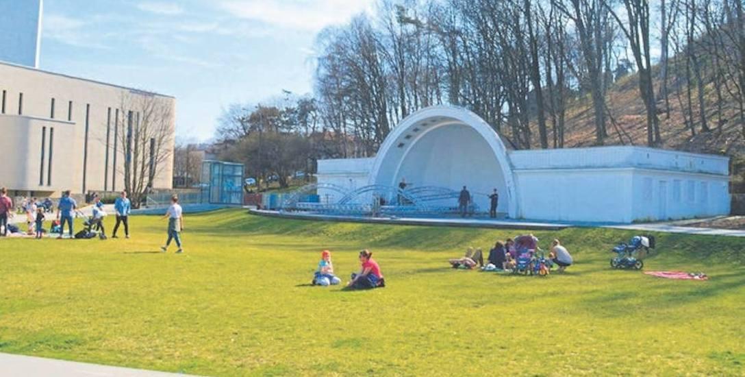Radny chciał, aby muszla stanęła w sąsiedztwie Parku Wiosny Ludów.