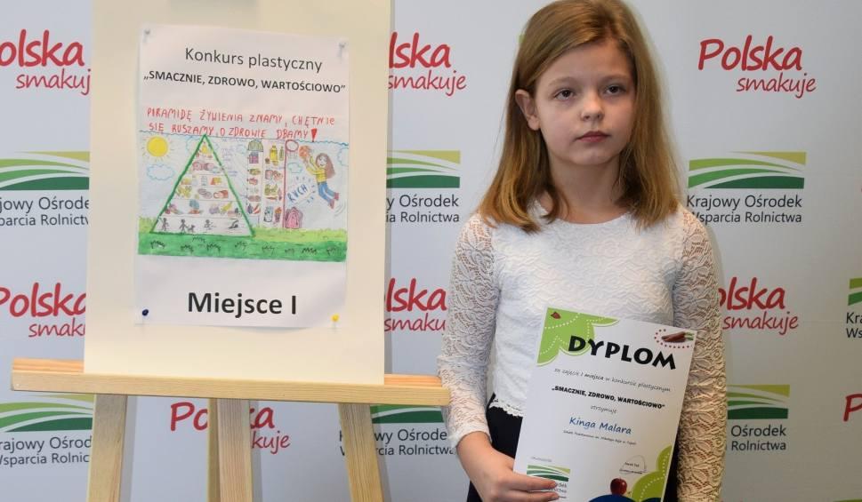 Film do artykułu: Kinga Malara z Topoli pierwsza w wojewódzkim konkursie plastycznym!