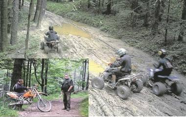 Szalejący na quadach i motocyklach crossowych rozjeżdżają beskidzkie szlaki, zatruwając życie turystom i zwierzętom. Do września będą na nich czatować
