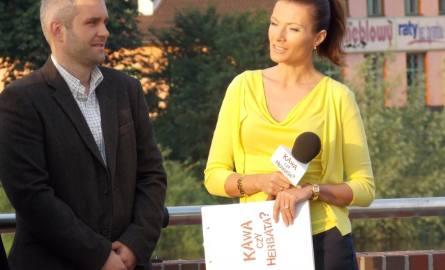 Prowadząca Agata Konarska gościła na antenie m.in. Łukasza Buraka, który opowiadał o odrestaurowanym lodołamaczu Kuna.