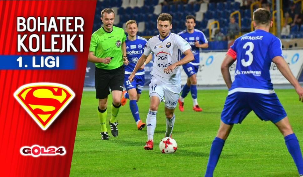 Film do artykułu: Nice 1 liga. Bartosz Nowak – bohater 31. kolejki Nice 1. ligi GOL24 [ROZMOWA]