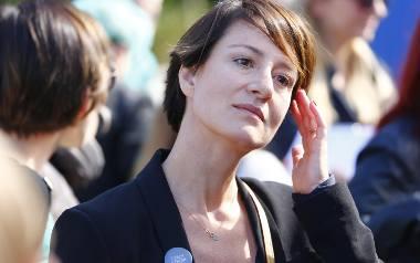 """Według Mai Ostaszewskiej  nazywanie tego, co dzieje się wokół ustawy antyaborcyjnej """"fanatyzmem"""", jest usprawiedliwione."""