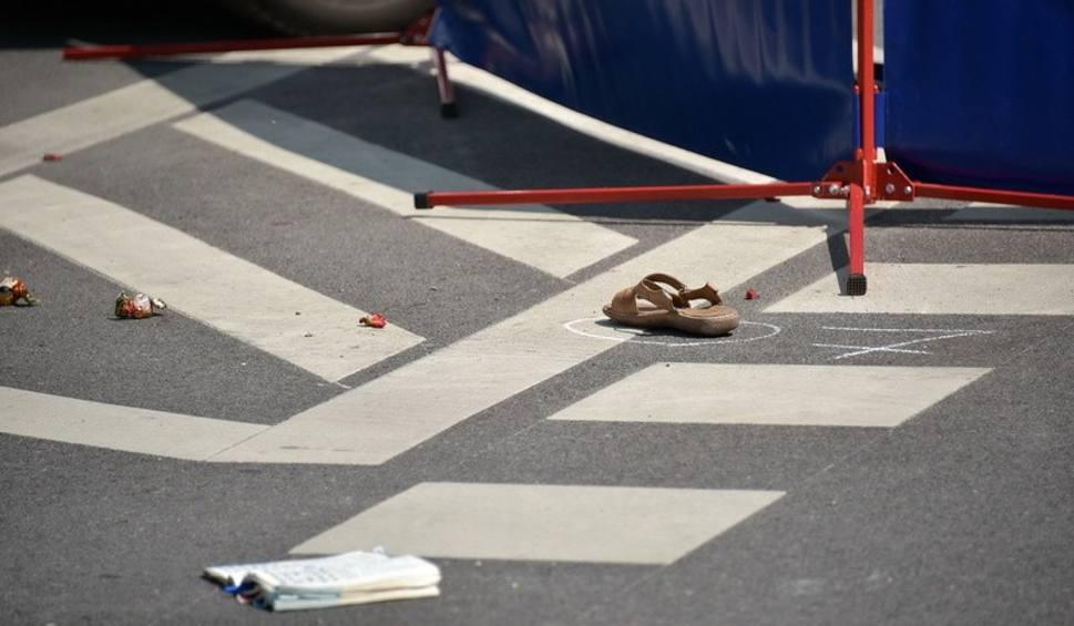 Film do artykułu: Śmiertelne potrącenie na skrzyżowaniu Wierzbowej z Tuwima (wideo)