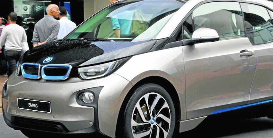 Tak prezentuje się elektryczne BMW i3, które kupiła dyrekcja Lasów Państwowych ze Szczecinka