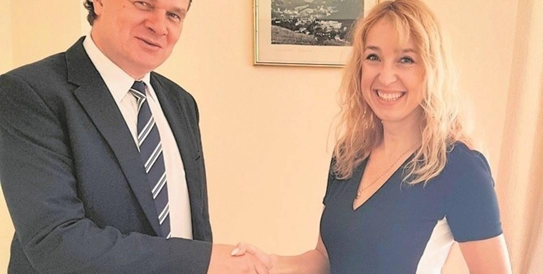 Katarzyna Zygmunt nominację na zastępcę burmistrza otrzymała od Dariusza Reśki na pięć tygodni przed wyborami