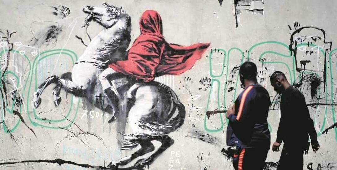 Banksy, najbardziej znany twórca street artu, postawił przed prawnikami nowe zagadnienie: do kogo należy graffiti; do artysty czy  właściciela np. ś