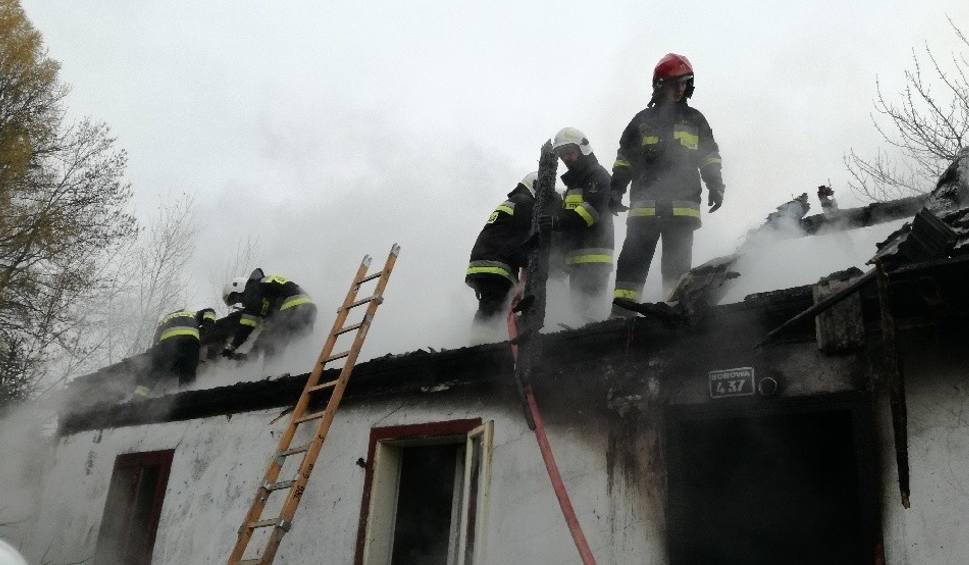 Film do artykułu: Gorlice. Cztery pożary, co najmniej dwieście tysięcy złotych strat. Płonęły domy, budynki gospodarcze oraz altana
