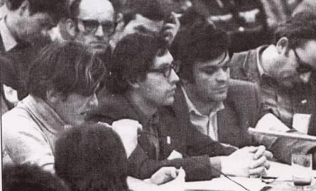Pierwsze dni bydgoskiego MKZ-tu. Od lewej Antoni Tokarczuk, Jarosław Wenderlich i Krzysztof Gotowski
