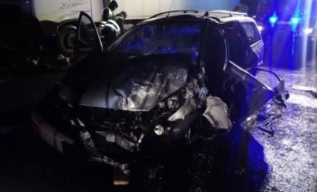 Śmiertelny wypadek na trasie Goleniów - Nowogard