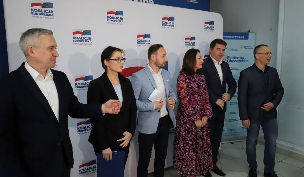 Film do artykułu: Wybory do Europarlamentu 2019. Koalicja Europejska prezentuje swoich podlaskich kandydatów do Europarlamentu