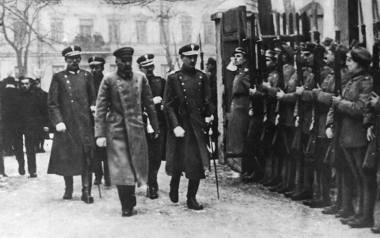 Józef Pilsudski udaje się na otwarcie pierwszego posiedzenia Sejmu Ustawodawczego