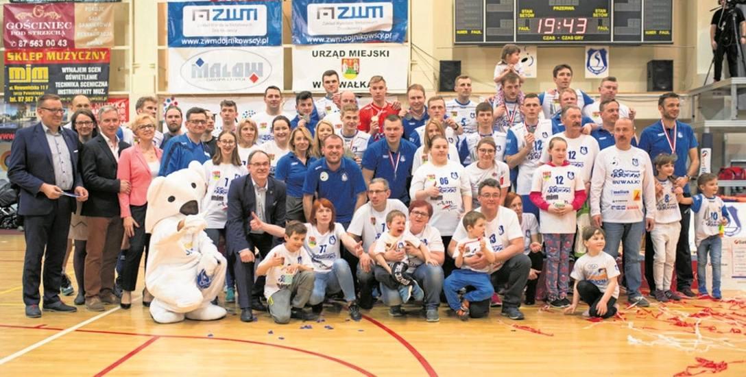 Rodzina Ślepska Suwałki ma powody do dumy z wicemistrzostwa pierwszej ligi