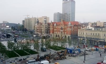 Nowe centrum Katowic: trzeci plac na rynku z opóźnieniem