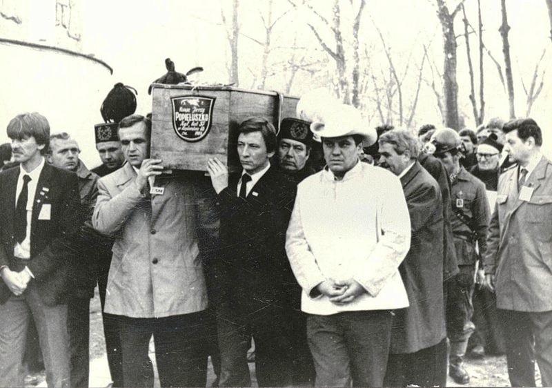 Pogrzeb ks. Jerzego Popiełuszki