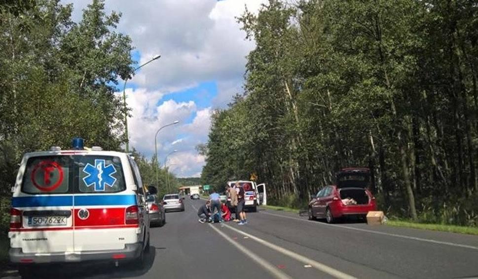 Film do artykułu: Bus potrącił rowerzystę na wyjeździe z Czułowa