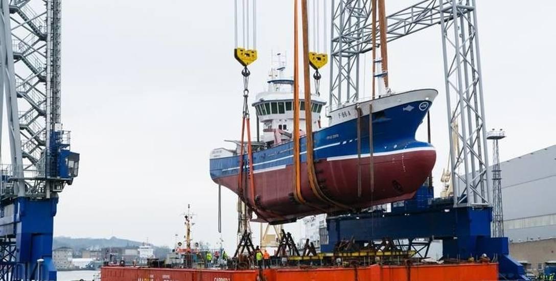Statek przez dwa miesiące będzie jeszcze doposażany w narzędzia do połowu dorsza i innych gatunków ryb zamieszkujących wody Morza Północnego