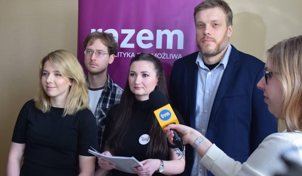 Film do artykułu: Partia Razem chce, aby powstał w Białymstoku gabinet ginekologiczny bez klauzuli sumienia (zdjęcia, wideo)