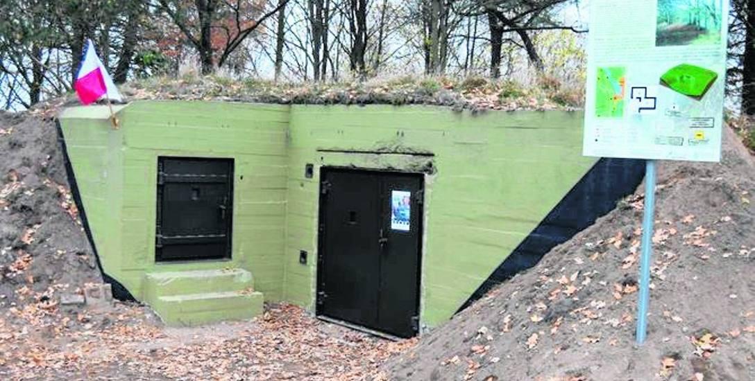 Tak prezentuje się schron-garaż na armatę po zabiegach dokonanych przez członków Stowarzyszenia Jazda 4X4