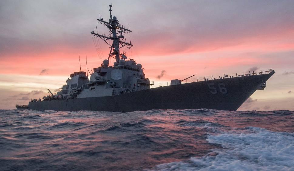 Film do artykułu: Zderzenie statków k. Singapuru. Zginęło 10 amerykańskich marynarzy z niszczyciela USS John S. McCain