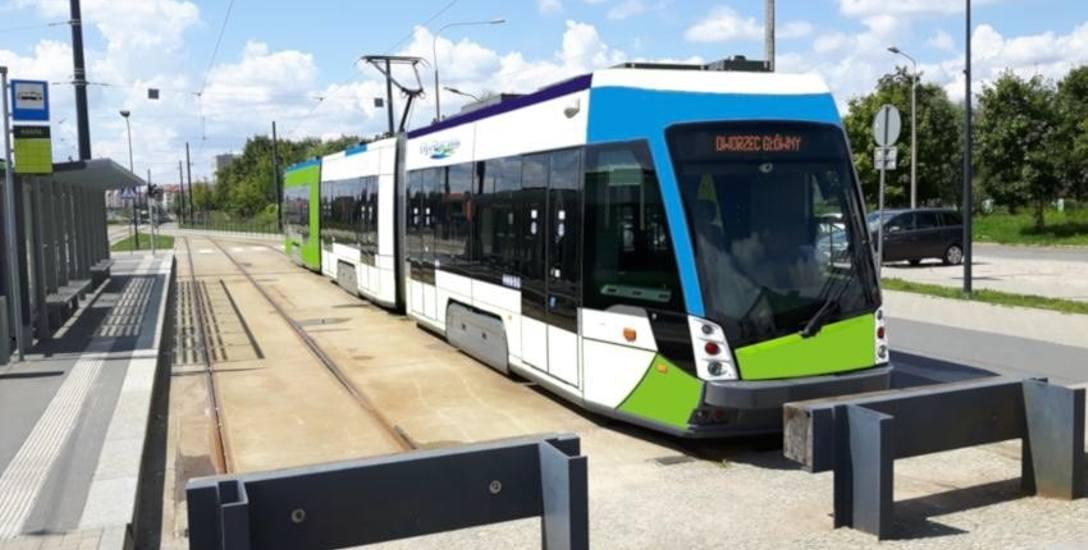 To tylko wizualizacja tramwaju dwukierunkowego w Szczecinie na krańcówce przy ul. Witkiewicza
