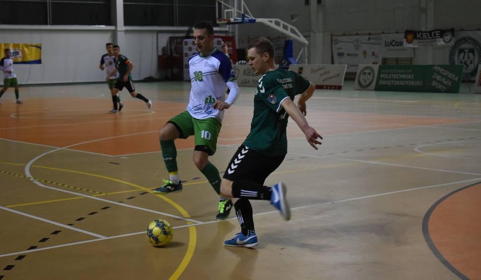 Film do artykułu: Turniej półfinałowy Akademickich Mistrzostw Polski w Futsalu. Politechnika Świętokrzyska w półfinale [ZDJĘCIA, WIDEO]