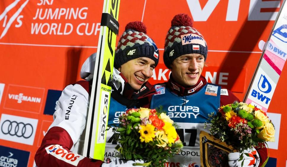 Film do artykułu: Konkurs w Ga-Pa: Dwaj Polacy na podium. Wygrał Kubacki, a Żyła był trzeci. Turniej Czterech Skoczni, skoki narciarskie. 01.01.2021