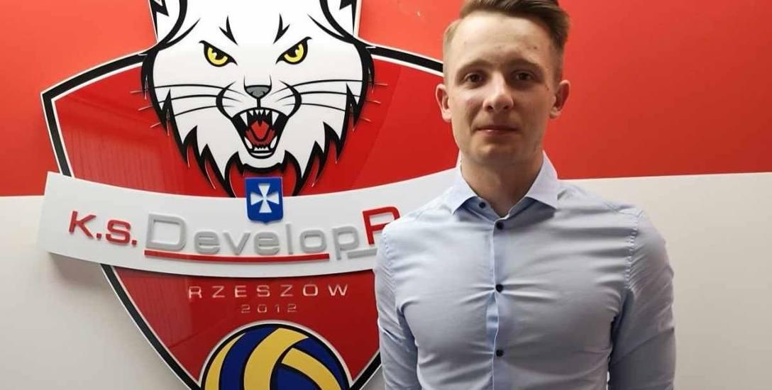 Mateusz Janik w Developresie jest od roku. Wcześniej pracował m.in. w Impelu Wrocław, KSZO Ostrowiec Św. i... reprezentacji Izraela