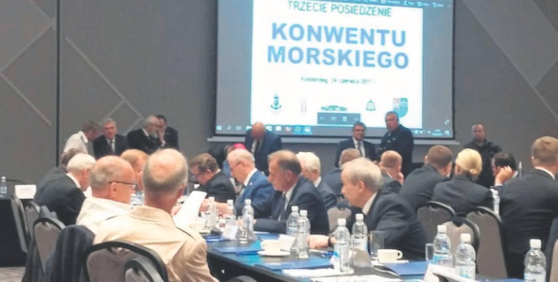 Spotkanie III Konwentu Morskiego, w którym uczestniczyło ponad 150 osób, odbywało się w hotelu Diune w Kołobrzegu