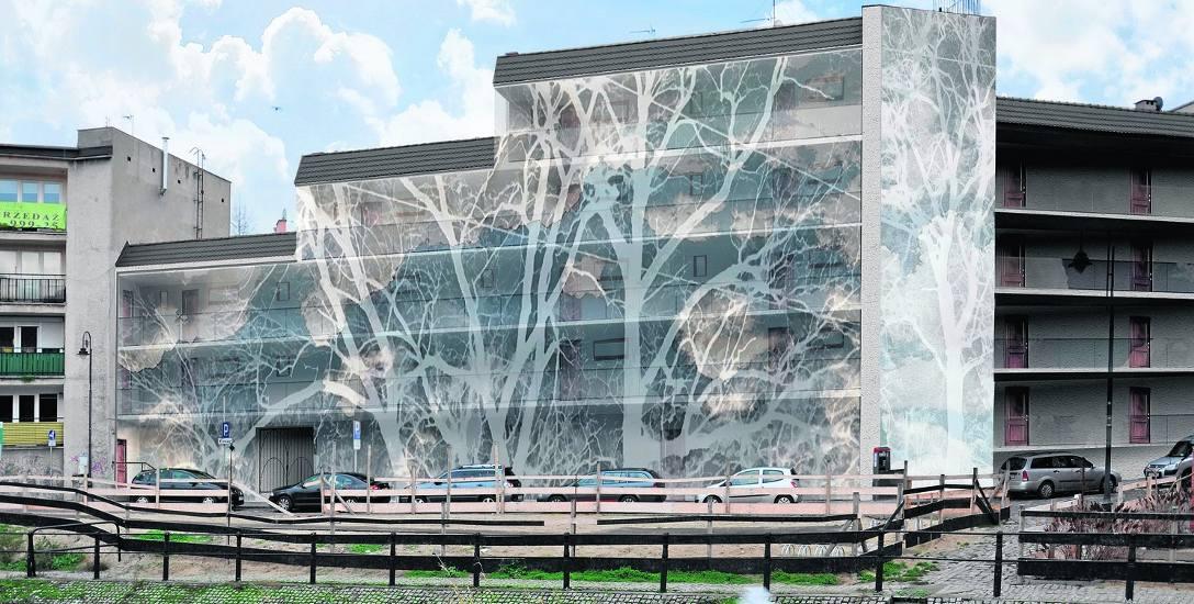"""Projekt """"Przyrzecze 15"""" powstał w pracowni prof. Aleksandry Simińskiej. Autorami są studenci  architektury wnętrz UTP. Na zdj. projekt Agnieszki Wal"""