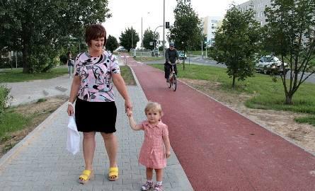 - Kupiłam specjalny fotelik na rower dla mojej wnuczki Amelii i teraz wybieramy się na przejażdżki – opowiada pani Ewa osiedla Południe.