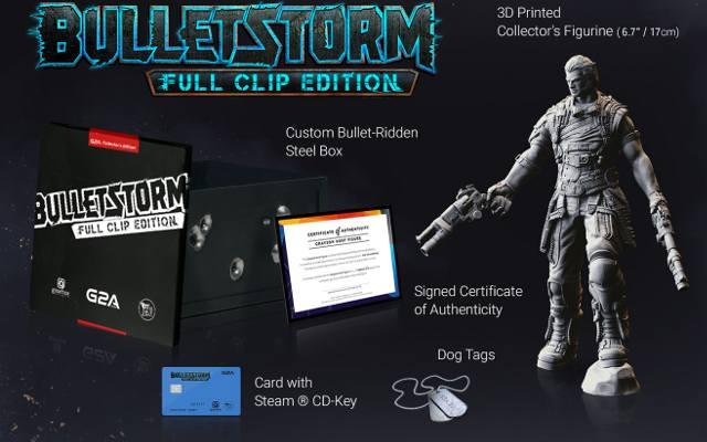 Bulletstorm: Full Clip Edition. Edycje kolekcjonerskie dla nielicznych