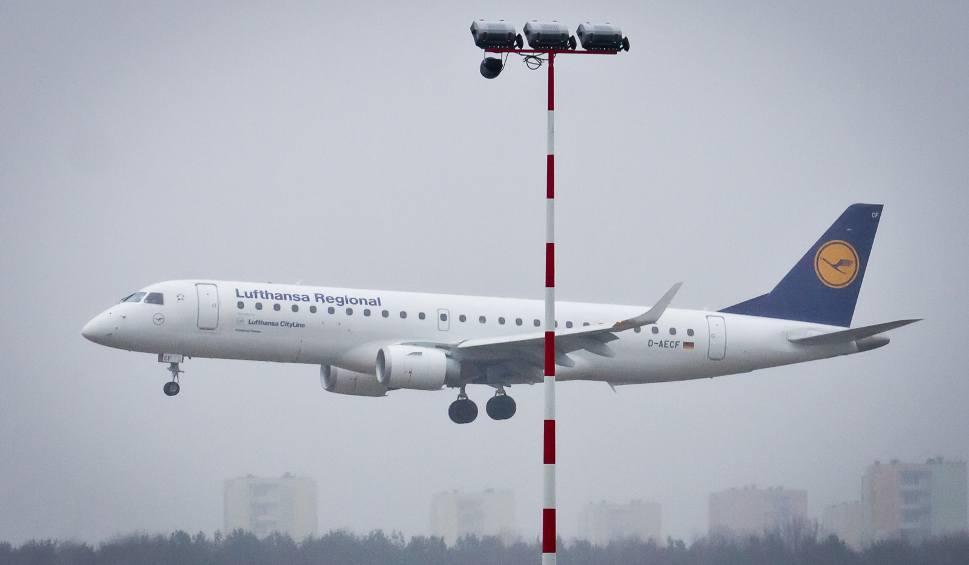 Film do artykułu: Lufthansa wyląduje na lotnisku w Łodzi?