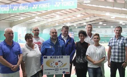 Członkowie Komisji wizytowali w czwartek między innymi kompleks kortów tenisowych na ulicy Wschodniej w Kielcach.