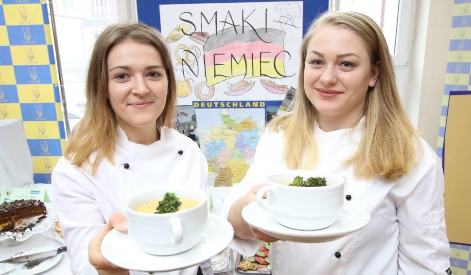 Film do artykułu: Smaki Niemiec znają jak mało kto. Młodzi kucharze z Kielc gotowali w ciekawym konkursie