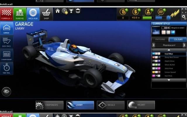 F1 Online: The Game. Jak zrobić własny bolid?
